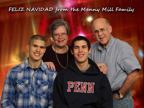 Mill Christmas FELIZ NAVIDAD 500