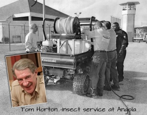 Tom H and the bug team for blog
