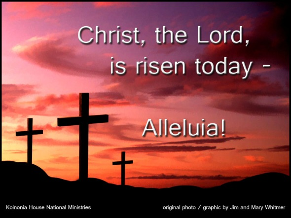 Easter Sunday FB and Twitter 2014