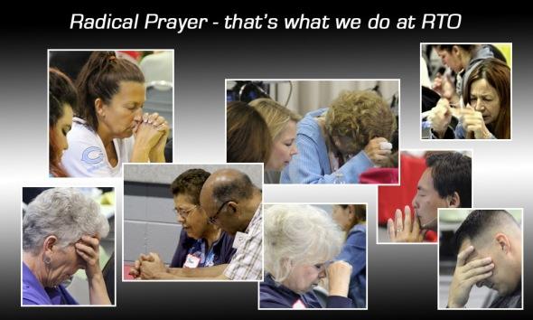 Radical Prayer at RTO for FB