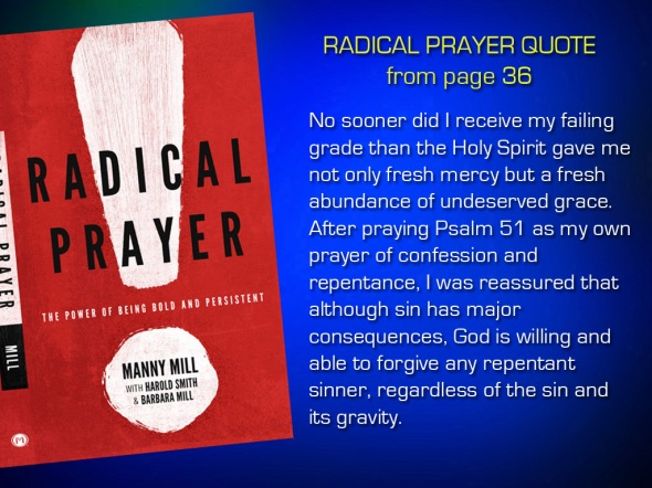 Radical Prayer Quote page 36
