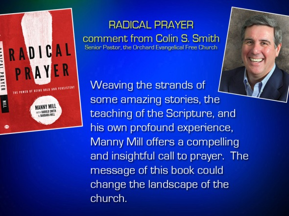 Radical Prayer Comment - Dr