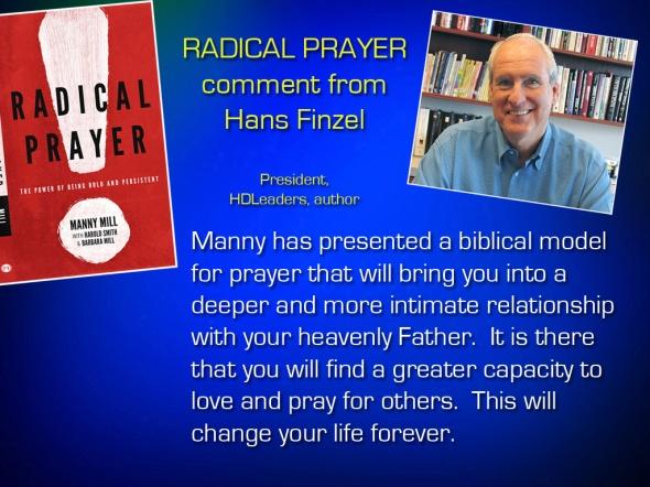 Radical Prayer Comment - Hans F