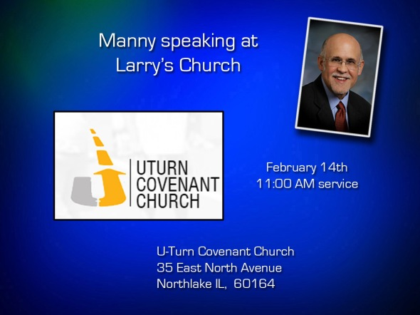 Manny speaking Feb 14