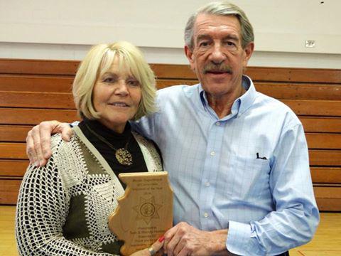 Tom and Wendy award
