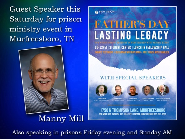 Manny Mill Guest Speaker this Saturday 2