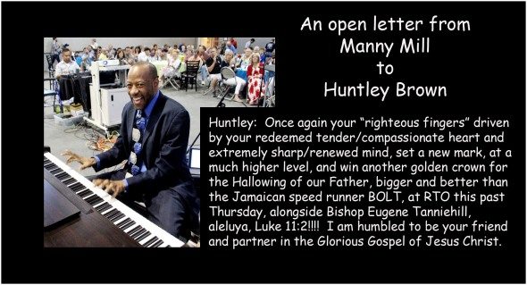 Open Letter to Huntley Brown for blog